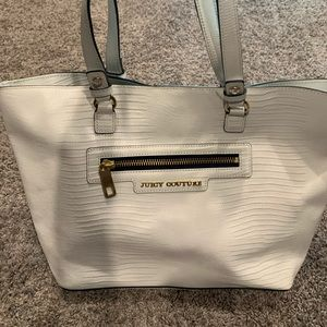 Juicy Couture white purse 👜